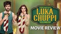 Luka Chuppi MOVIE REVIEW   Kartik Aaryan, Kriti Sanon, Aparshakti Khurana