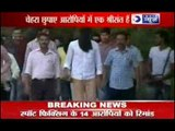 Sreesanth arrested on Spot Fixing: Face Covered in Black Shirt