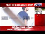 Exclusive video of Sreesanth after being arrested in Spot Fixing case