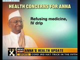 Anna's health deteriorates, refuses hospitalization