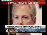 Wikileaks to stop publishing: Julian Assange