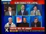 NewsX@9 Slim chances for Lokpal passage today - II
