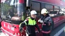 TEM Akşemsettin viyadüğünde özel halk otobüsünün de karıştığı zincirleme kaza meydana geldi. Kaza nedeniyle TEM Otoyolu Ankara istikameti tamamen trafiğe kapandı. Kazada ölen ya da yaralanan olmazken, ekiplerin trafiği açma çalışmaları sür