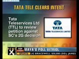 2G row: Uninor, Tata to file review petition in SC-NewsX