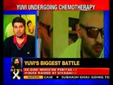 Yuvraj Singh posts bald headed picture on Twitter-NewsX