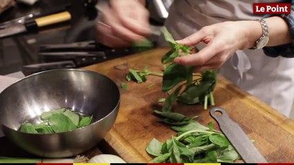 LPHD 2427 : Christine and the chefs #7 : la barbue aux légumes de saison de Bruno Doucet