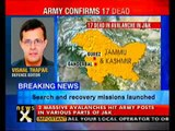 Avalanches hit Kashmir; 17 dead, 23 missing- NewsX