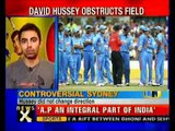 Tri Series: David Hussey sparks run out controversy- NewsX
