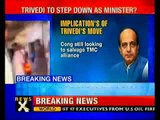 Dinesh Trivedi resigns as Railway Minister-NewsX