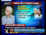 NewsX@9: Mamata suppressing freedom of expression-NewsX