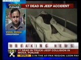 17 killed in Punjab accident - NewsX