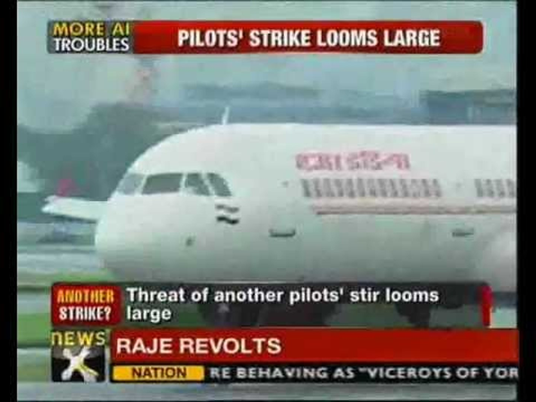Air India pilots threaten to go on strike again - NewsX