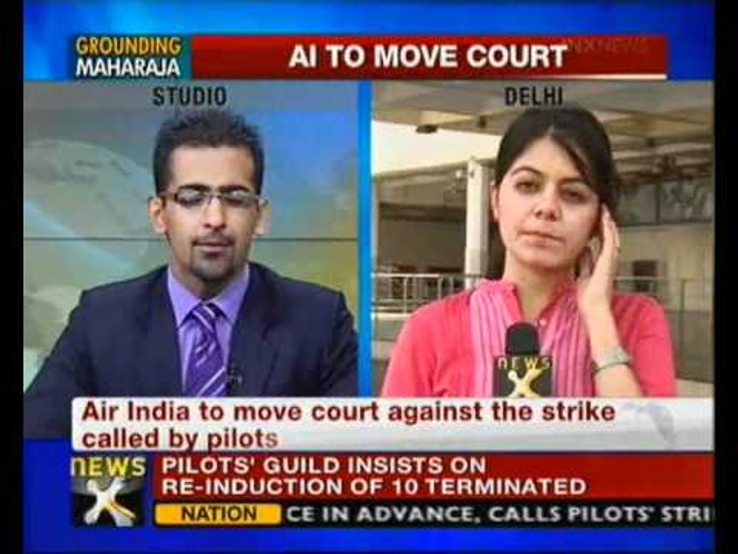 Air India may move court against pilots' strike - NewsX