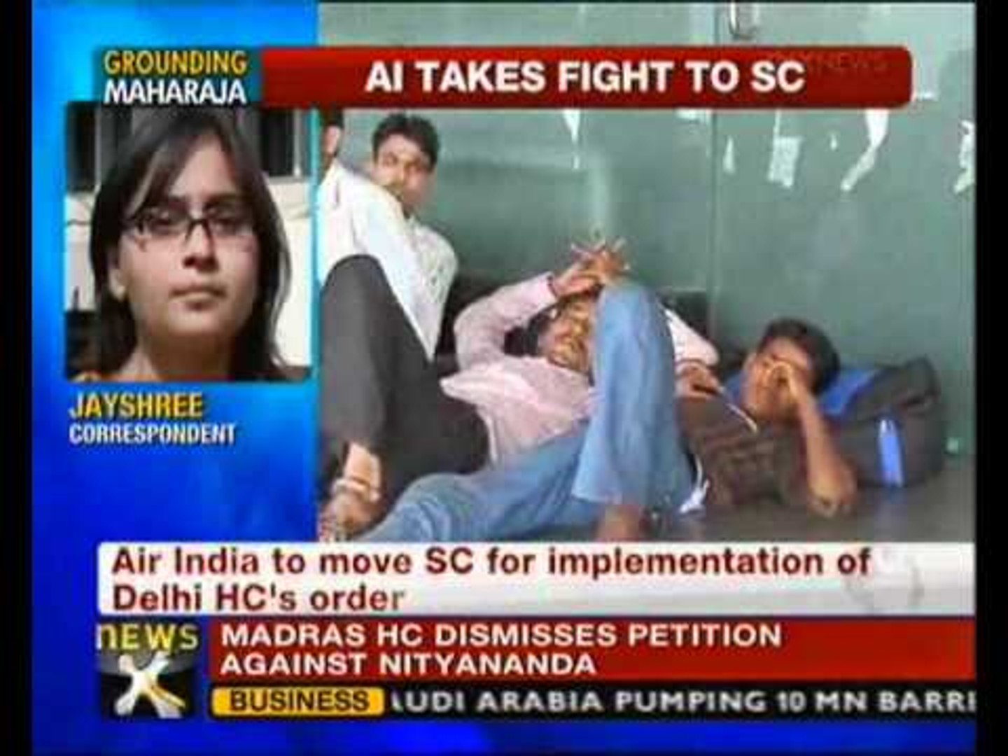 Air India to move SC over HC's illegal strike order - NewsX