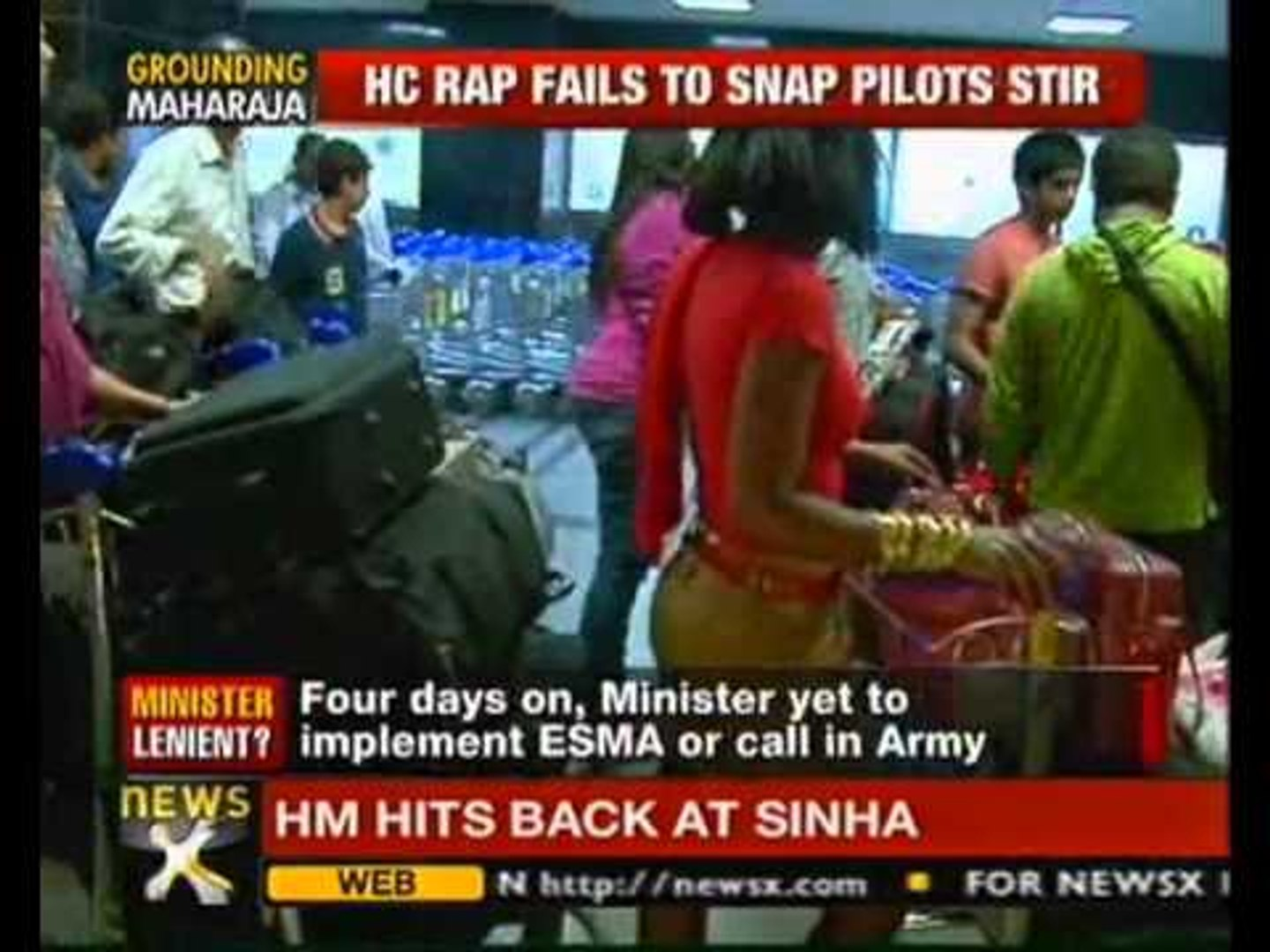 Pilots' strike enters day 4; Air India moves Supreme Court - NewsX