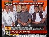 Modi shadow over BJP's meet, grabs position of power - NewsX