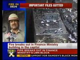 Fire at Finance Ministry building in Delhi - NewsX