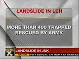 Landslide in J&K; all 400 trapped civilians rescued - NewsX