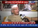 At 89, N D Tiwari marries Rohit Shekhar's mother Ujjwala Sharma