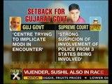 SC dismisses Gujarat's plea on CBI probe in encounter killing - NewsX