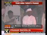 Government slams Team Anna - NewsX