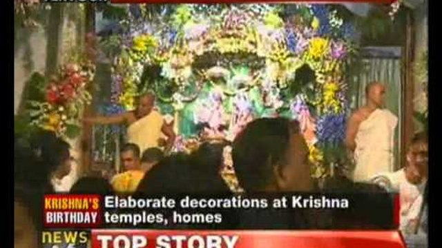 Nation celebrates Sri Krishna Janmashtami - NewsX