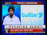 No ban on Twitter in India: Govt - NewsX