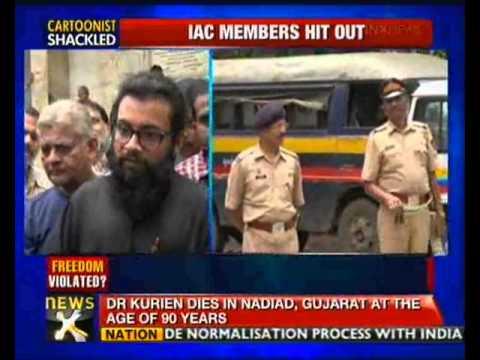 Cartoonist Aseem Trivedi remanded to police custody till Sept 16 – NewsX