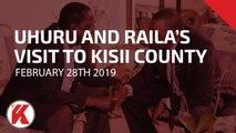 President Kenyatta and Opposition Leader, Raila Odinga's Public Address in Kisii County