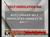 Auto driver attempts self-immolation protesting Rajapakse's visit - NewsX