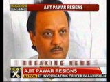 Irrigation scam: Ajit Pawar resigns as Maharashtra deputy CM - NewsX
