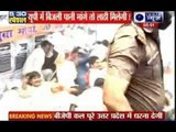 BJP workers protest against SP govt in Lucknow, clash with police