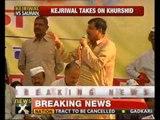 Kejriwal, IAC member reach Farrukhabad - NewsX