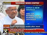 Govt not willing to see corruption free India: Anna - NewsX