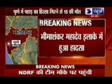 Many people feared trapped in landslide in Pune district