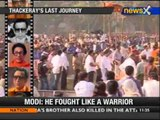 Bal Thackeray's last journey: People keep pouring in - NewsX