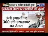 High security in Delhi for Independence day