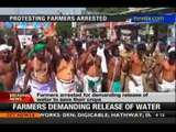 Cauvery row: Protesting farmers in Trichy arrested - NewsX