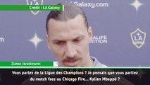 Zlatan Ibrahimovic encense Kylian Mbappé