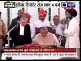 Former UP Chief Minister Kalyan Singh takes oath as Rajasthan Governor