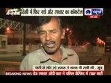Speeding Audi car accident at Pragati Maidan in Delhi