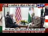 Andar Ki Baat: PM Narendra Modi meets top US CEOs, pitches for big-ticket investments