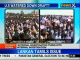 Protests over Sri Lankan Tamils issue continue