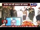 Tearful farewell to Colonel M N Rai martyred in Kashmir