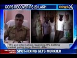 IPL 2013 spot fixing Raids at Chandila's house, Rs 20 Lakh recovered