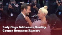 Lady Gaga Talks To Kimmel About Bradley Cooper Love Rumors