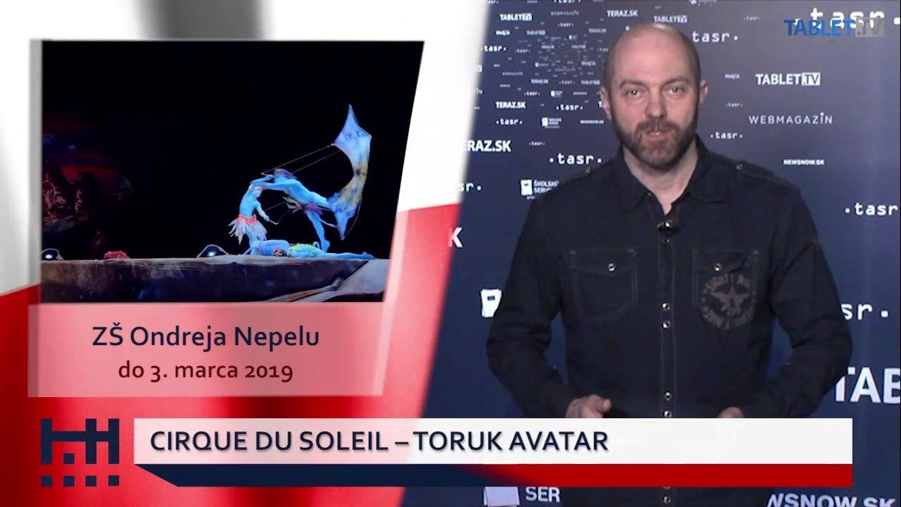 POĎ VON: Ruské Vianoce a Cirque du Soleil v Bratislave