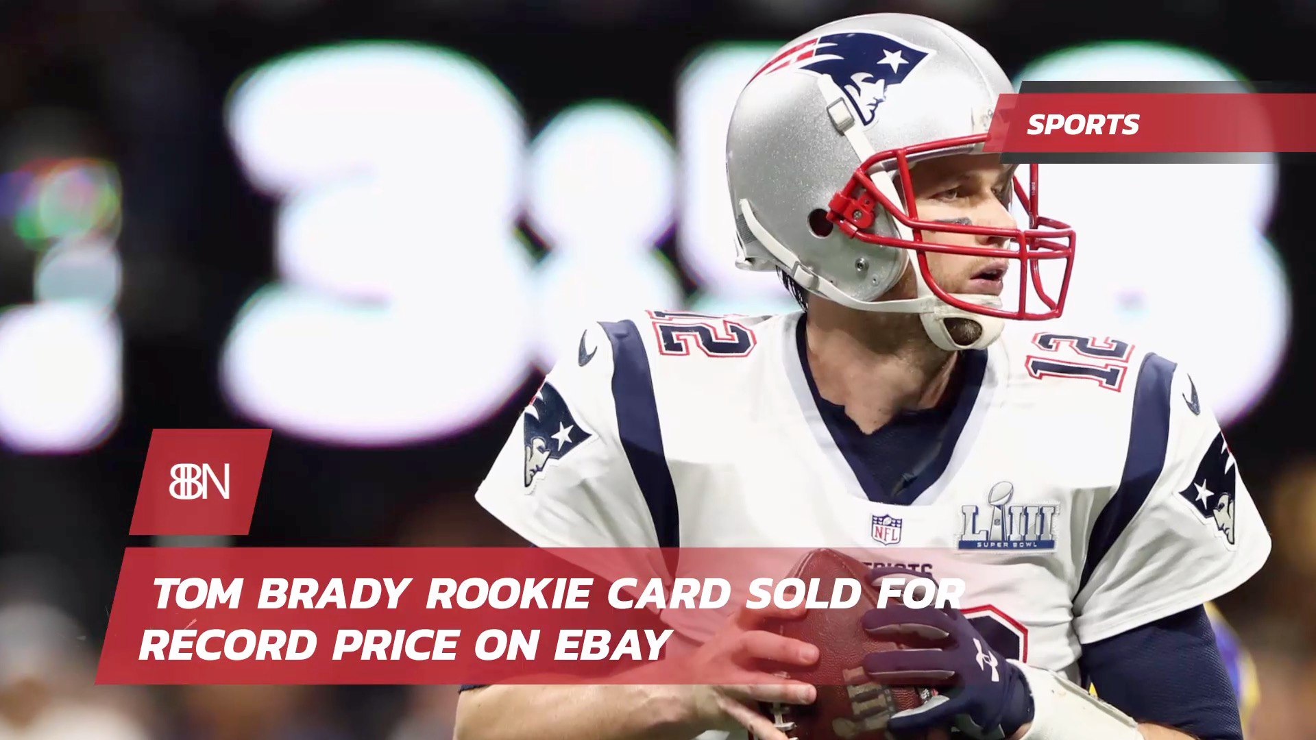 Tom Brady Rookie Card Goes For 400k