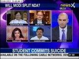 NewsX Debate: Can JD(U) afford to split with BJP?