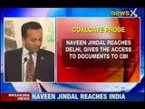 NewsX: Coalgate scam: Naveen Jindal reaches India